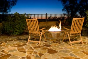 winter-proof patio and furniture
